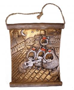 "Панно ""Коты с гитарой"" (thumb7633)"