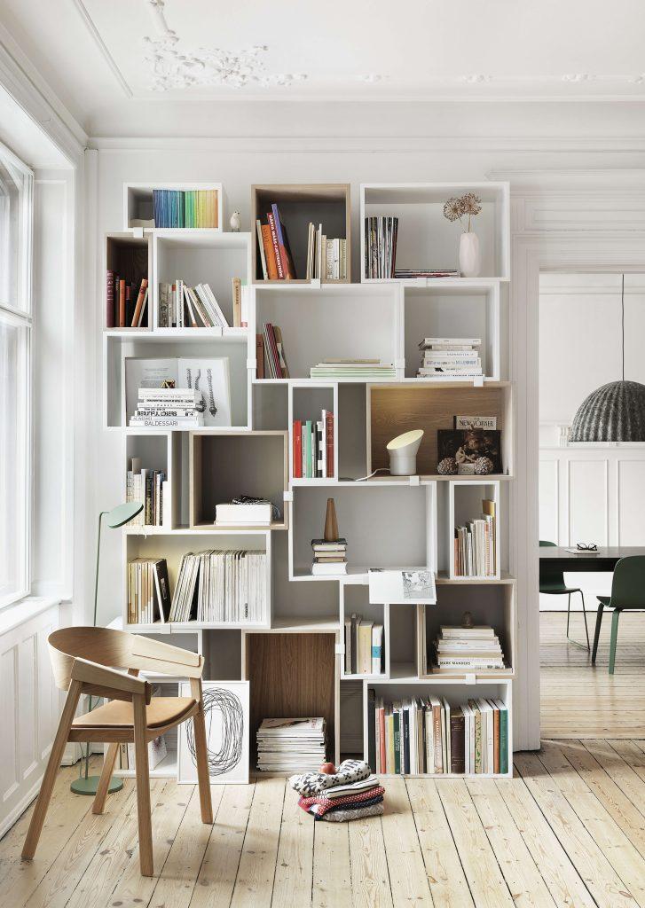как удобно расставить книги
