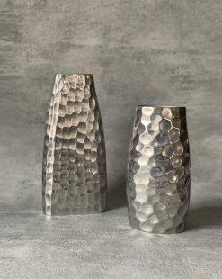 ваза оригинальная алюминий
