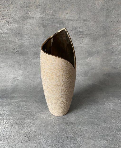 ваза керамическая стильная для цветов