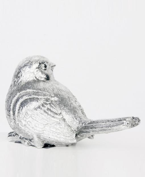 воробышек птичка фигурка