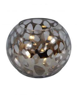 круглые вазы из стекла