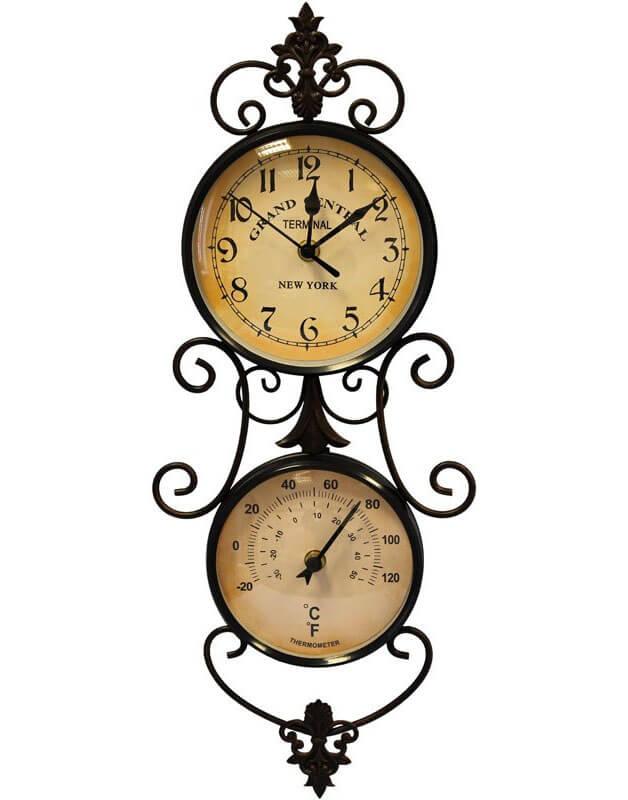 купить часы с термометром