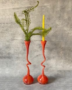 ваза стеклянная