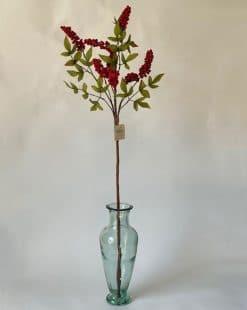 искусственная ветка для высокой вазы