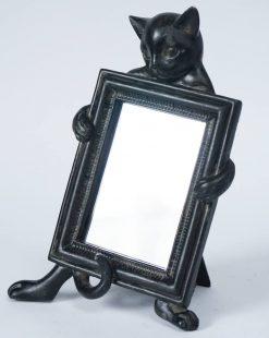 зеркало кот с рамой