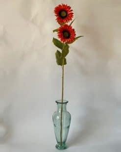 цветок подсолнух оранжевый