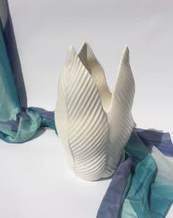 купить вазу для цветов из керамики