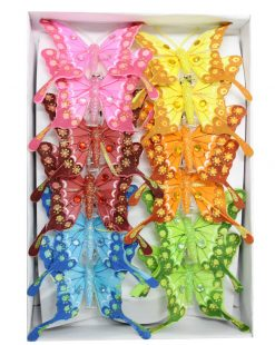 декоративные бабочки для штор