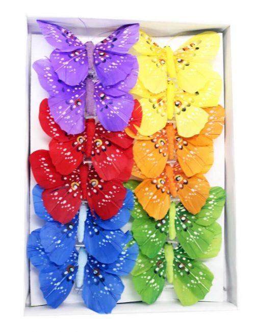 бабочка на шторы