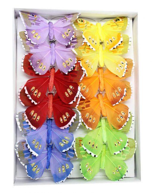 бабочка из перьер купить в минске