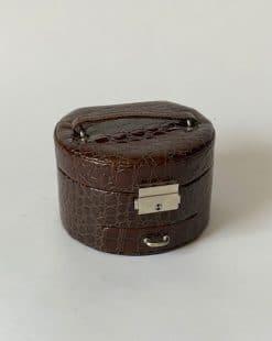шкатулка коричневая