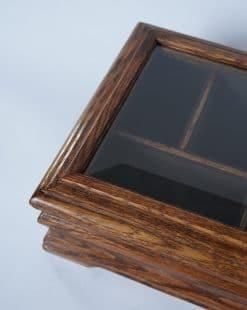шкатулка с прозрачной крышкой