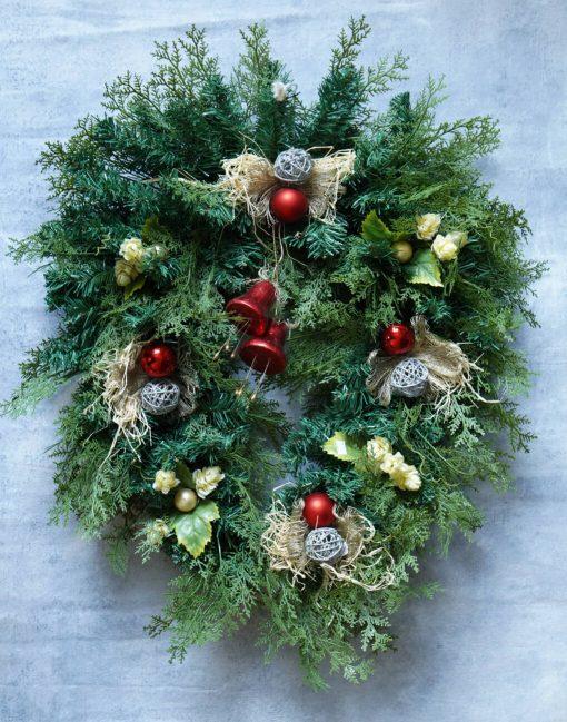 рождественский венок минск