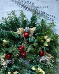 новогодний венок минск купить