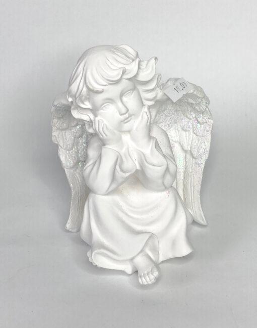 статуэтка ангел белый