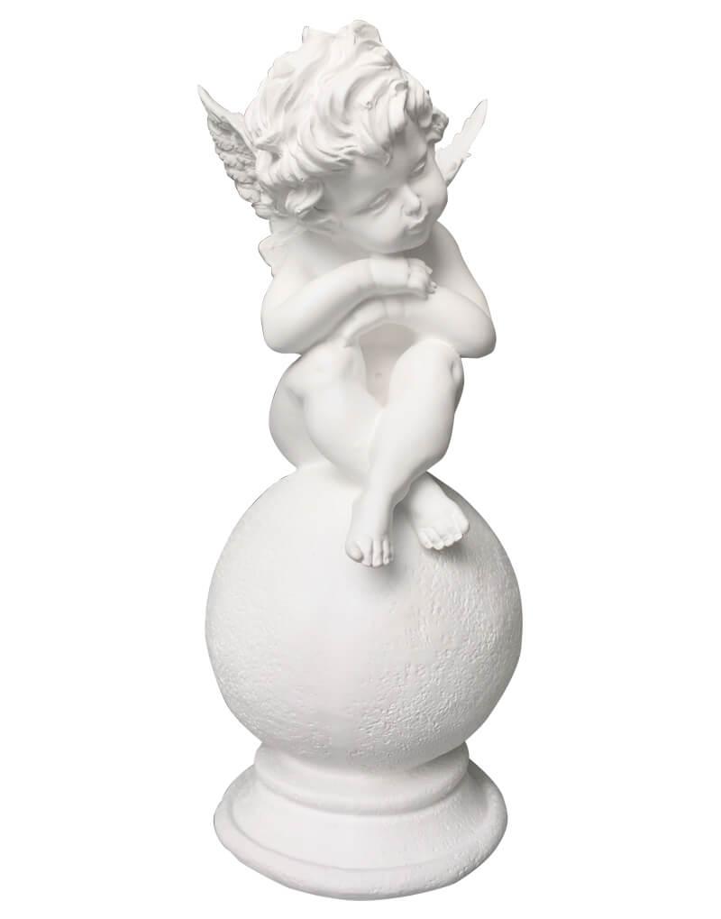 статуэтка ангела из гипса