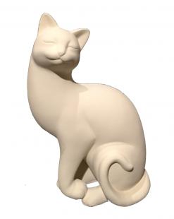 статуэтка кота с поднятой лапой