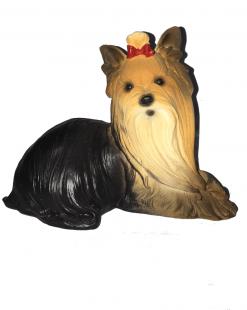 статуэтка собаки йоркширский терьер