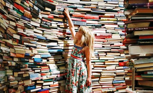 как расставить книги дома