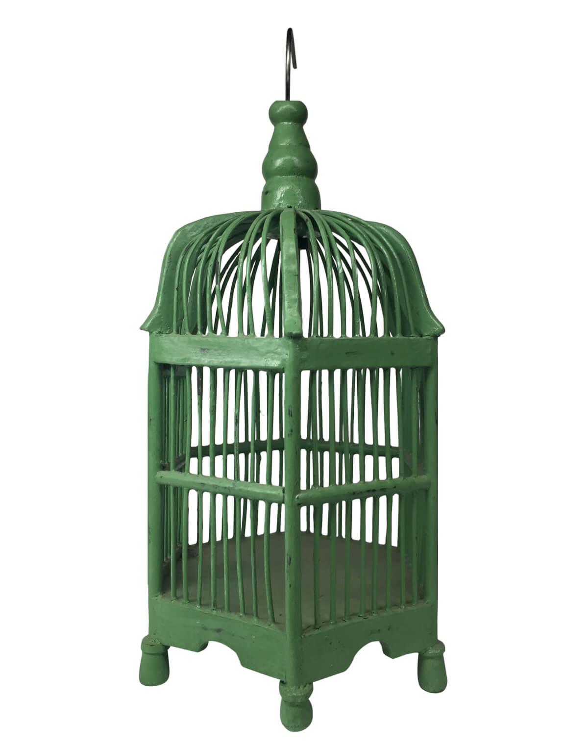 клетка для птиц из дерева