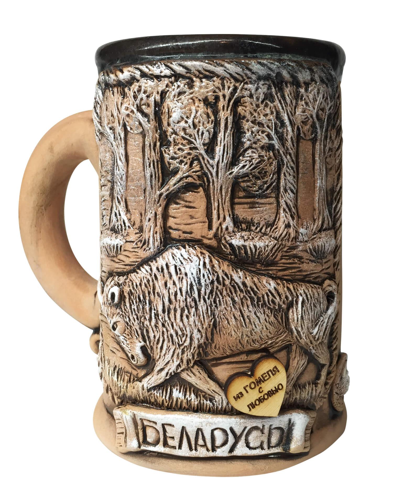 керамический бокал для пива купить