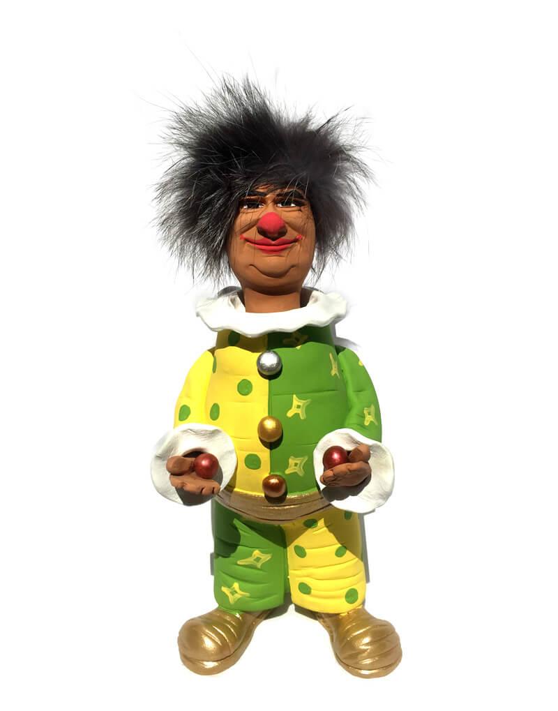 фигурка клоун