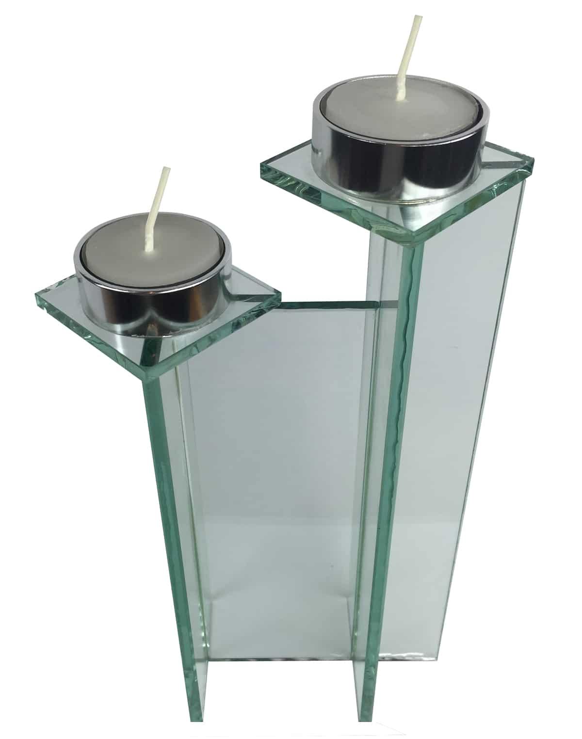 купить стеклянный подсвечник в интернет магазине