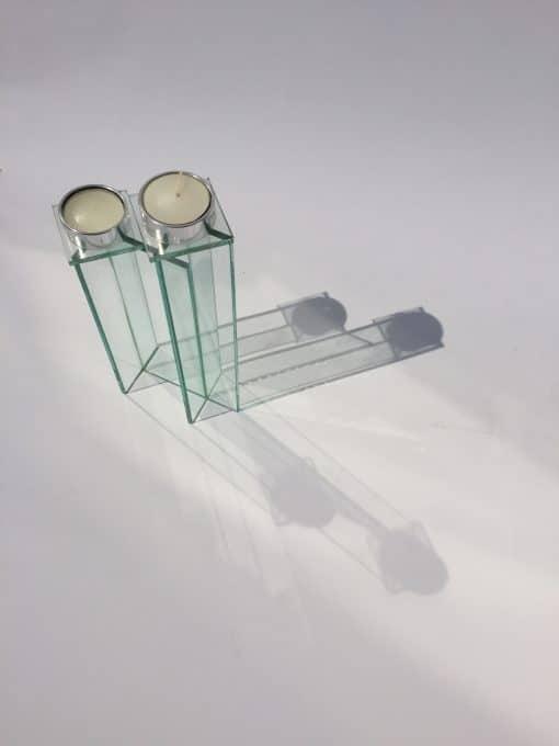 стеклянный подсвечник купить в гомеле