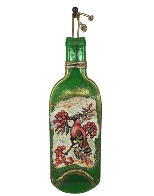 декоративная настенная бутылка купить