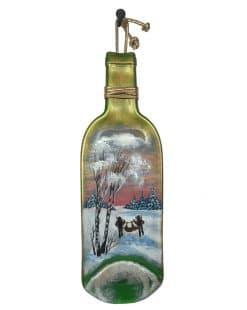 бутылка с росписью купить