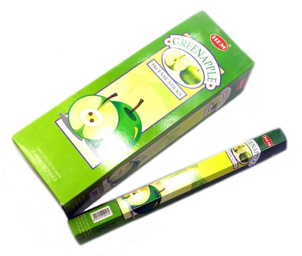 зеленое яблоко ароматические палочки