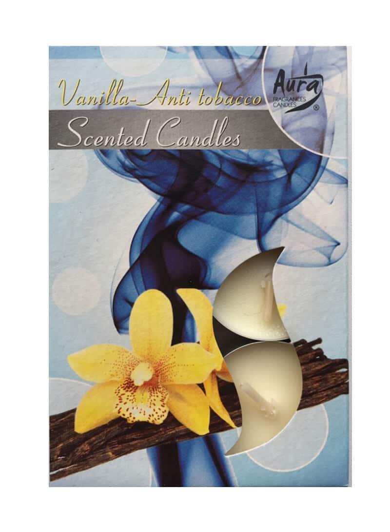 ароматические свечи ваниль