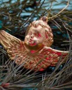Рождественские статуэтки ангелов