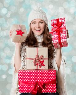 Подарки на Новый Год для женщины