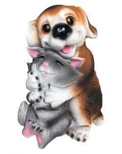 статуэтка кот и собака