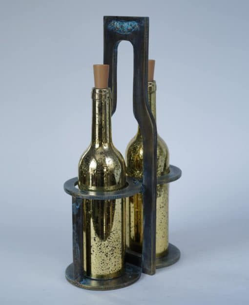 деревянная подставка для бутылок