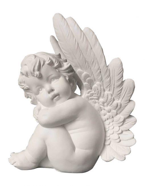 ангел из гипса статуэтка купить