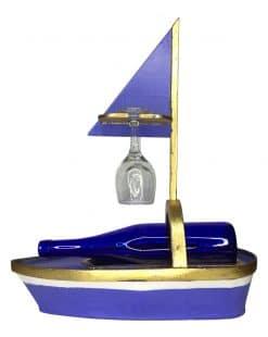 подставка для бутылки корабль