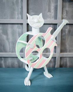 подставка для бутылок кот