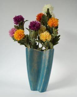 керамическая ваза для цветоа