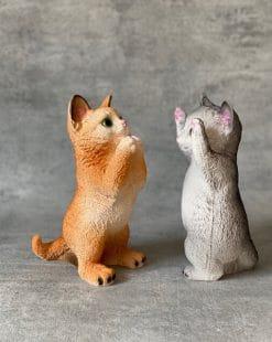 фигурки милых котов