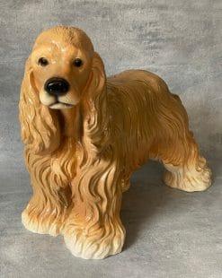 садовая фигурка собака