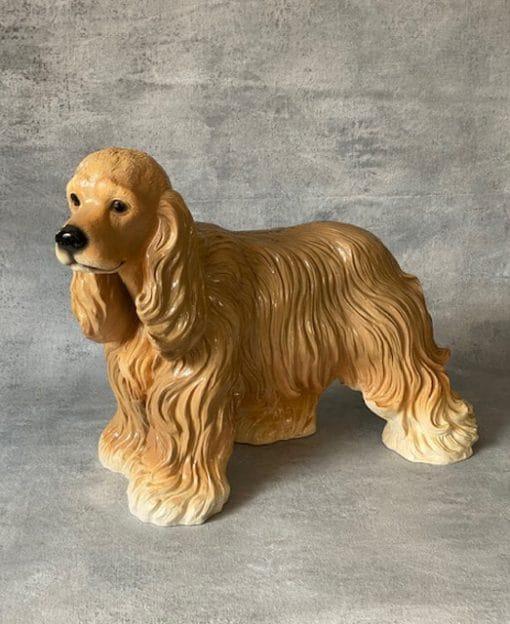 садовая скульптура собака