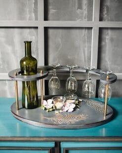 подставка для бутылок ручной работы