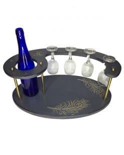 подставка для вина бутылки