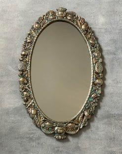 зеркало настенное овал