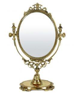 настольное зеркало из латуни купить