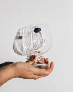 купить бокалы из богемского стекла