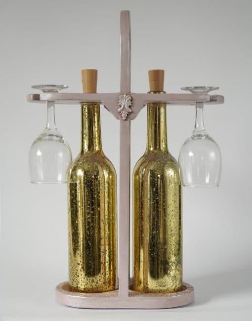 подставка для бутылок в подарок